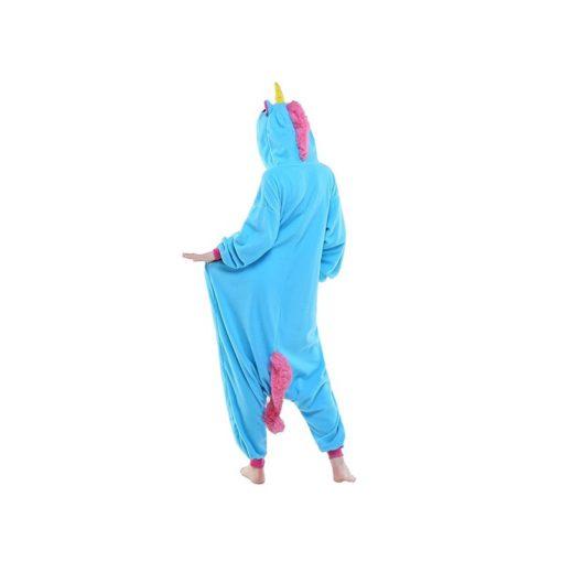 Déguisement licorne bleu