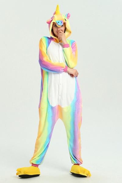 Pyjama licorne multicolors
