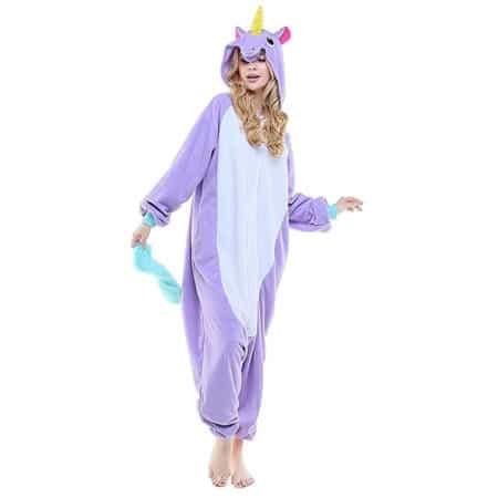Pyjama licorne pourpre