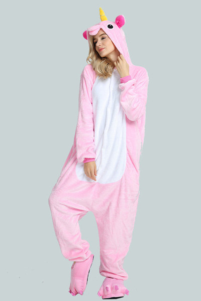 Pyjama Licorne Unicorne rose Adulte