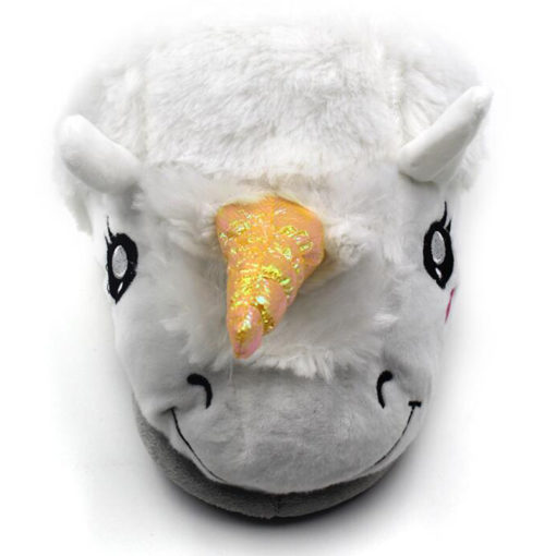Chausson licorne face