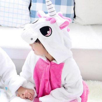 Pyjama licorne enfant rose