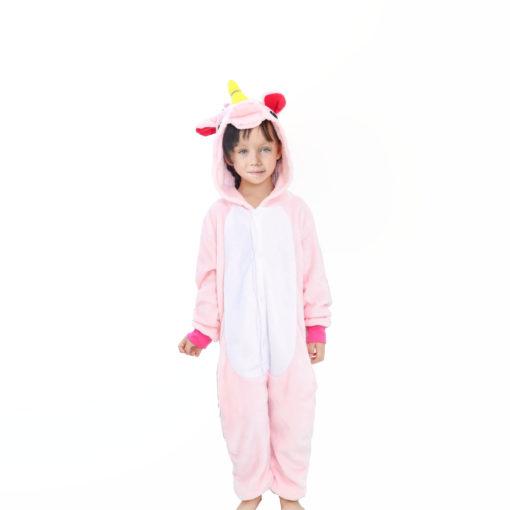 Pyjama Licorne Rose Fille enfant